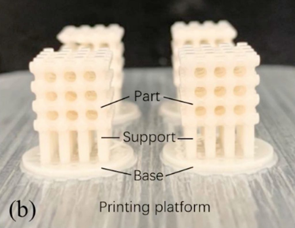 The researchers' 3D printed prototypes featured a hollow, integrated structure.