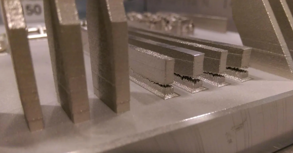 Residual stresses can cause 3D printed metal parts to fracture. Photo via University of Pittsburgh.